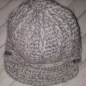 Pistol Gray Knit Hat